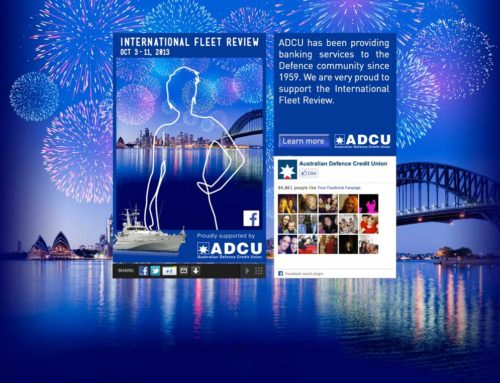 ADCU – International Fleet Review Promotion